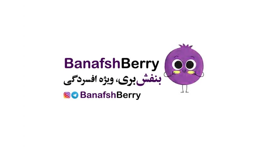 کانال تلگرام و اینستاگرام ویژه افسردگی- بنفش بری Banafshberry